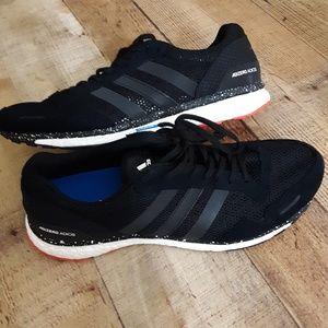 NWT Adidas Adizero Adios 3M Shoes CM8356 SZ 10 BLK